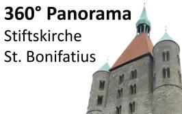 360° Panoramaaufnahmen der Stiftskirche